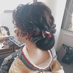 Wedding Hairstyles, Kimono, Bouquet, Dreadlocks, Photo And Video, Hair Styles, Beauty, Instagram, Fashion