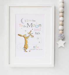 Guess How Much I Love You Personalised by LexisLittlePrints