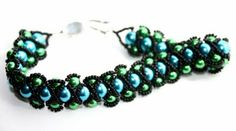 A.I.F Jewelry: Netted Beads and Beaded Bead