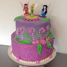 Tinker bell  birthday cake   #sweetruminations #1stbirthdaycakes #tinkerbell #birthdaycakes #warminstercakeshop  (at Sweet Ruminations 228 York Rd Ste B Warminster PA 18974)