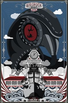 Bioshock Infinite - The songbird watches over you by ~TheSpartanOfAuburn on deviantART