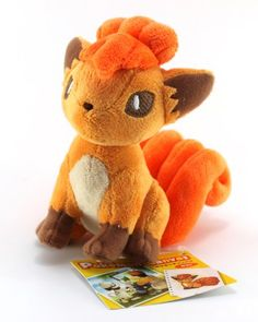 Pokemon Center Official Nintendo Pokemon Center Canvas Plush Stuffed Toy  4 Vulpix * More info could be found at the image url.