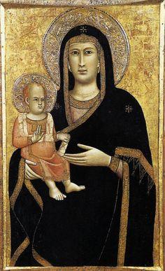 Giotto di Bondone ~ Madonna and Child, 1297