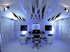 Morel Muziek BV studio design shared these images of the White Universum Studio – a studio that looks a bit like director Stanley Kubrick designed a synth cave in space. Check out these image…