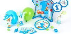 Addobbi festa compleanno Camioncino 1° compleanno per bambini