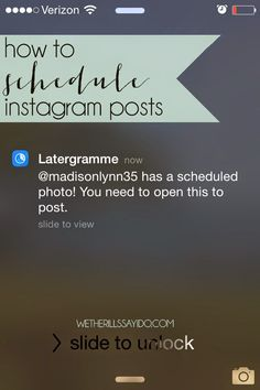 I've always wondered if there was a way to schedule Instagram posts like you can schedule tweets, Facebook posts and even emails. Then I discovered Latergramme. Find out how to schedule your Instagram posts!