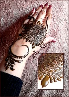 Indian Mehendi design