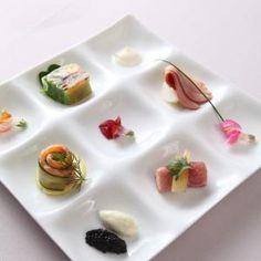 フレンチ10000円コースの前菜盛り合わせ|ドリームエアウェイズ(羽田空港ウェディング)の写真(376183)