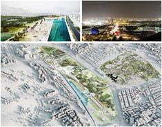 CARACAS / Airport park - LCLAOFFICE Luis Callejas Landscape Urbanism Architecture