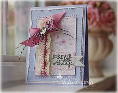 Card by Andrea Ewen using No Matter What from Verve Stamps.  #vervestamps