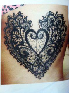 Lace heart (Ruffhouse in Valpo)                              …