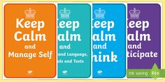 These fun display posters are a New Zealand Key Competency version of the infamous Keep Calm posters. Related directly to the Key Competencies these posters will be a hit in any classroom. Keep Calm Posters, Growth Mindset, New Zealand, Classroom, Key, Display, Learning, Class Room, Floor Space