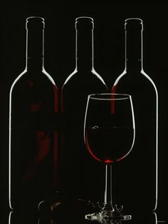 Red Wine Glass | ... walter-silhouette-of-three-red-wine-bottles-and-one-red-wine-glass.jpg