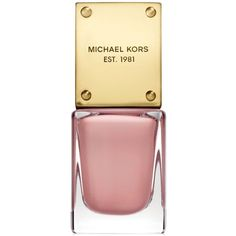 Michael Kors Sporty Nail Lacquer ($18) ❤ liked on Polyvore featuring beauty products, nail care, nail polish, makeup, nails, beauty, coquette, shiny nail polish and michael kors