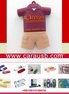 costuming students uniform usb flash disk 8gb emboss logo of ODYSSEY The Global Preschool, Happy Teachers' Day
