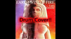 Let's Groove by Earth, Wind and Fire Drum Cover by Myron Carlos