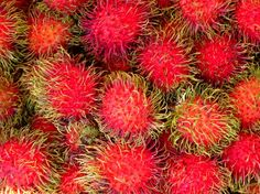Rambutan fruit-had them in Thailand