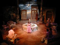 Suddenly Last Summer @ Henderson State University Stage Design by Douglas Gilpin