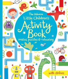"""Find out more about """"Little children's activity book"""", write a review or buy online."""