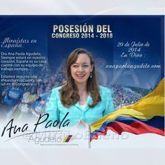 @AnaPaolaAgudelo Siempre estará en nuestro corazón, Estamos seguros que #NuestraVozCuenta con ud en el Congreso.