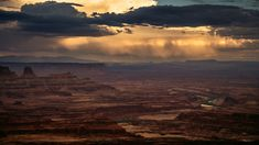 Dead Horse Point State Park - Sunset in Dead Horse Point State Park, Utah.