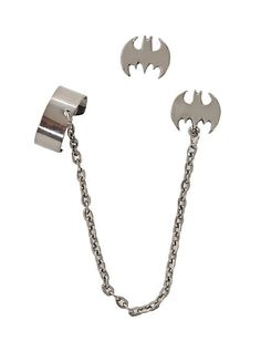 Batman Cuff Earring Set | Hot Topic
