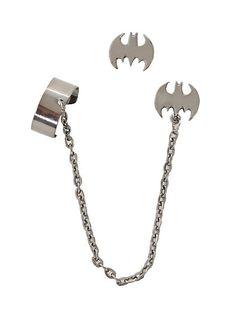Batman Cuff Earring Set | Hot Topic