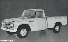 The first true truck Toyota sold in the U.S. was the 1964 Stout.