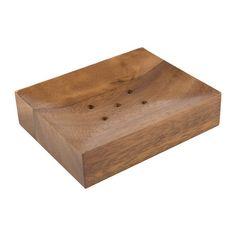Natural Wood Soap Dish - £