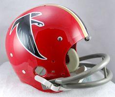 Atlanta Falcons 1966-1969 TK Riddell Helmet