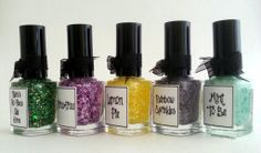 :: whimsical nail polish by pam ::  whimsical sprung collection 2014