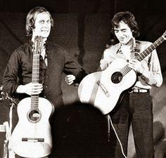 Serrat y Paco de Lucía.