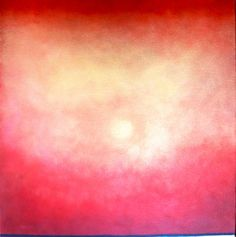 "Saatchi Online Artist #LizMcdonough; Painting, ""Ethereal Mars Moon"" #art #abstract #ArtistToWatch www.artliz.net/gallery.php www.facebook.com/ArtLiz.net"
