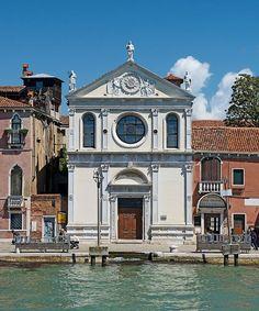 Maria della Visitazione in Venice, facade. Renaissance, Santa Maria, 16th Century, Italy Travel, Facade, Travel Destinations, Explore, Architecture, City
