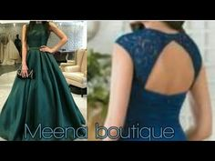 HI FRIENDS In this video you will learn how to make a long gown How do party wear gowns? The trend of gown is always going on and it is still going on for qu. Party Wear Long Gowns, Stitching Dresses, Gown Pattern, Kurti Designs Party Wear, Designs For Dresses, Dress Sewing Patterns, Simple Dresses, Evening Gowns, Designer Dresses