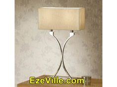 Gorgeous Contemporary Table Lamps With Square Shades Contemporary Lamp Shades, Contemporary Bedroom, Table Lamps For Bedroom, Living Room Bedroom, Nightstand Lamp, Desk Lamp, Arc Floor Lamps, Buffet Lamps, Home Lighting