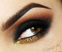 Olho preto esfumado - inspirações para você arrasar