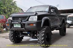 Mitsubishi Strada 4WD L200 Lifted 7 Inches