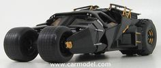 MATTEL HOT WHEELS BMH74 1/18 BATMAN BATMOBILE - BATMAN BEGINS - 2005