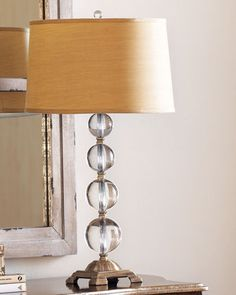 Crystal Ball Table Lamp at Neiman Marcus.