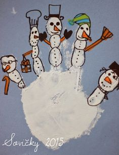 Vous n& pas encore de compte: Sněhová . Winter Art Projects, Winter Project, Christmas Crafts For Kids, Christmas Activities, Winter Activities, Christmas Art, Winter Christmas, Drawing For Kids, Art For Kids