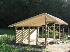 My Shed Plans - Wood Sheds Shop a variety of quality Wood Storage Sheds and Wood Storage Sheds that are available for purchase online or in Stonecroft - Now You Can Build ANY Shed In A Weekend Even If You've Zero Woodworking Experience! Wood Shed Plans, Diy Shed Plans, Storage Shed Plans, Lean To Shed Plans, Run In Shed, Firewood Shed, Wood Storage Sheds, Diy Storage, Small Storage