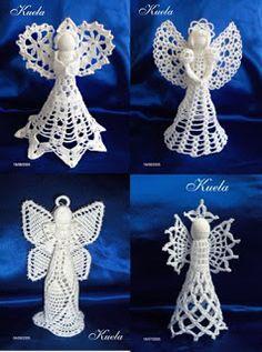Crochet Baby y: Angels in crochet! Crocheted angels!