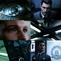 detroit become human // connor