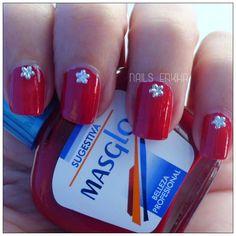 NAIL ART FLOWER STARS http://nailenkha.blogspot.com.es/2016/07/nail-art-flower-stars.html #bornpretty #masglo #red #nails #notd #manicure #nailart #polish #nailspolish #nailartadict #cutepolish #cool #fashion #nailideas #manicura #esmalte #uñas #unhas #blog #blogguer #blogasturias #bloggerasturias #beauty #beautyblog