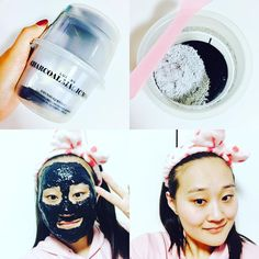 Korean skincare routine | I decided to try the Lindsay Charcoal Modelling Mask tonight. Purely because my skin needed a bit of a detox and also because it's black and it's Halloween. I was kind of disappointed that some kids didn't come round when I was donning my black mask because I would have scared the heck out of them 😈 Mwahaha  The mask was easy to use, set fairly quickly and really brightened my skin up after use. I'm really liking modelling masks at the moment