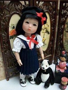 "NEW 8"" Ten Ping Wardrobe Pattern,  School Uniform, Kimono      Ruby Red Galleria"
