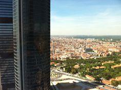 De Madrid al cielo. Vista desde Torre de Cristal.