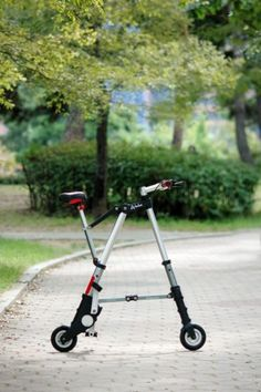 A-bike Folding Bicycle, Bicycle Design, In The Flesh, Inventions, Outdoor Power Equipment, Bike, Wheels, Queen, Business
