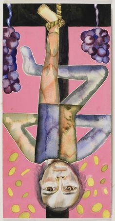 hanGED mAN by Francesco Clemente New York City TArot